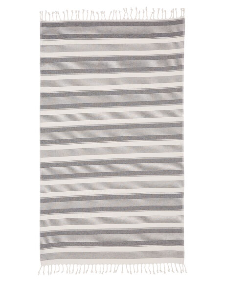 WHITE WOMENS ACCESSORIES MAYDE TOWELS - 19PEREWHIWHI