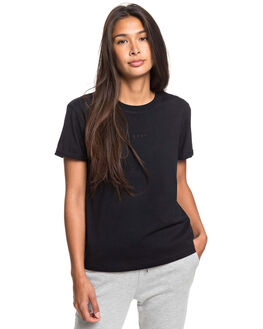 ANTHRACITE WOMENS CLOTHING ROXY TEES - ERJZT04844-KVJ0