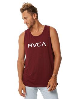 TAWNY PORT MENS CLOTHING RVCA SINGLETS - R371007TPRT