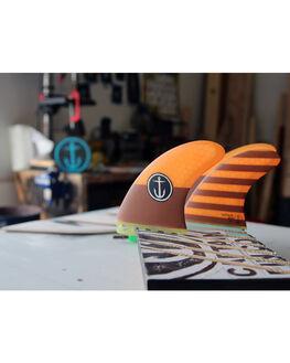 ORANGE BOARDSPORTS SURF CAPTAIN FIN CO. FINS - CFF2111505ORG