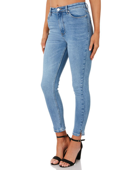 76 VINTAGE WOMENS CLOTHING RES DENIM JEANS - RW070376V