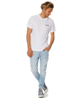 WHITE MENS CLOTHING AFENDS TEES - 01-01-312WHT