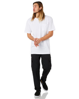 WHITE MENS CLOTHING DICKIES TEES - K3160129WH