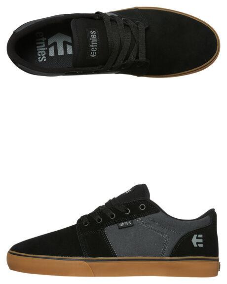 BLACK DARK GREY MENS FOOTWEAR ETNIES SNEAKERS - 4101000351-566