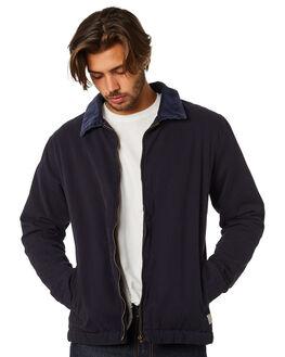 NAVY MENS CLOTHING RHYTHM JACKETS - APR19M-JK01-NAV