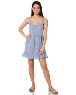 BLUE WOMENS CLOTHING ELWOOD DRESSES - W84712123