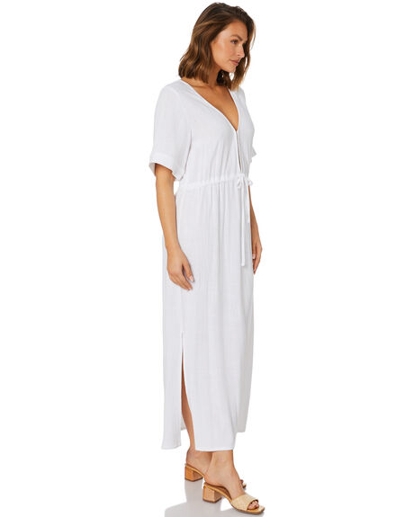 WHITE WOMENS CLOTHING RUSTY DRESSES - DRL1136WHT