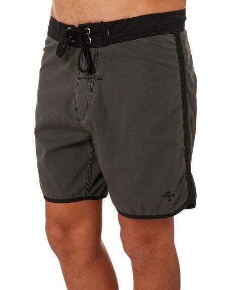 MERCH BLACK MENS CLOTHING THRILLS BOARDSHORTS - TS8-311MBMERBK