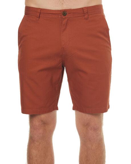 ROASTED ORANGE MENS CLOTHING KATIN SHORTS - WSCOVS17RORG