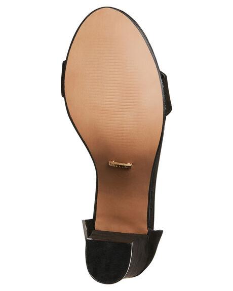 BLACK SUEDE WOMENS FOOTWEAR BILLINI HEELS - H624BLK