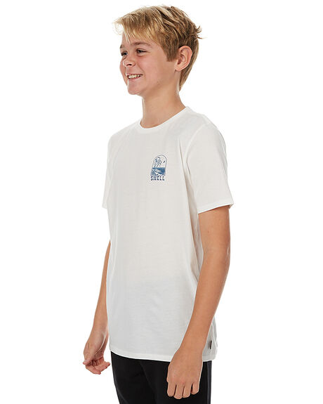 OFF WHITE KIDS BOYS SWELL TEES - S3173003WHT