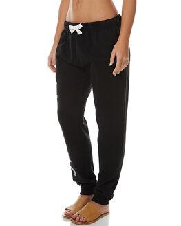 BLACK WOMENS CLOTHING BILLABONG PANTS - 6575674BLK