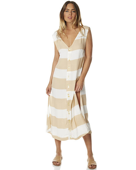 STRIPE WOMENS CLOTHING ZULU AND ZEPHYR DRESSES - ZZ1274STRP