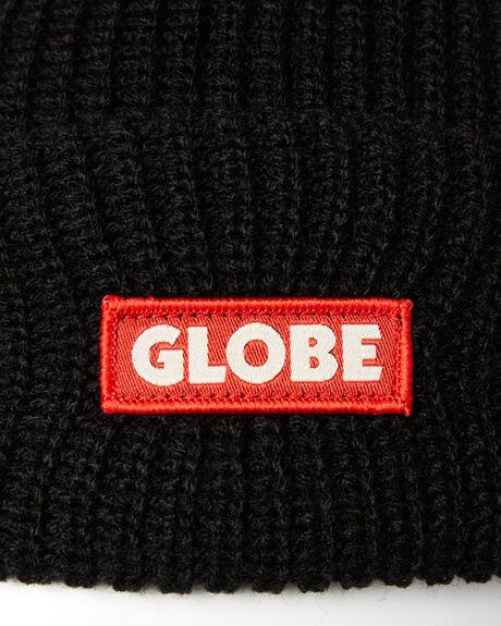 BLACK MENS ACCESSORIES GLOBE HEADWEAR - GB71839027BLK
