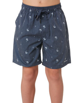 NAVY KIDS BOYS RIP CURL SHORTS - KWAML10049
