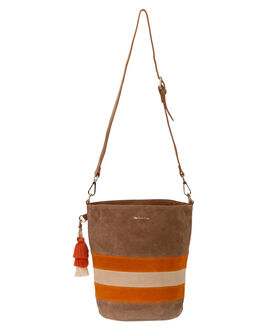 COGNAC SUEDE WOMENS ACCESSORIES THE WOLF GANG BAGS + BACKPACKS - TWGAW20A03COS