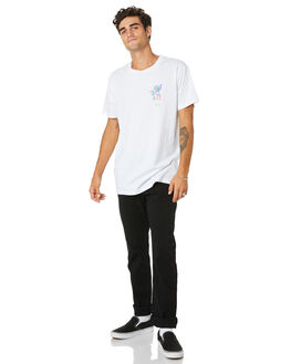 WHITE MENS CLOTHING THE LOBSTER SHANTY TEES - LBSFROTHTTWHT