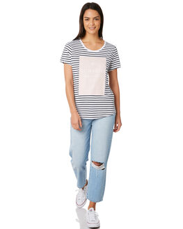 STRIPE WOMENS CLOTHING ELWOOD TEES - W84105STRIP