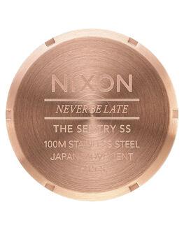 ROSE GOLD GUNMETAL MENS ACCESSORIES NIXON WATCHES - A356-897