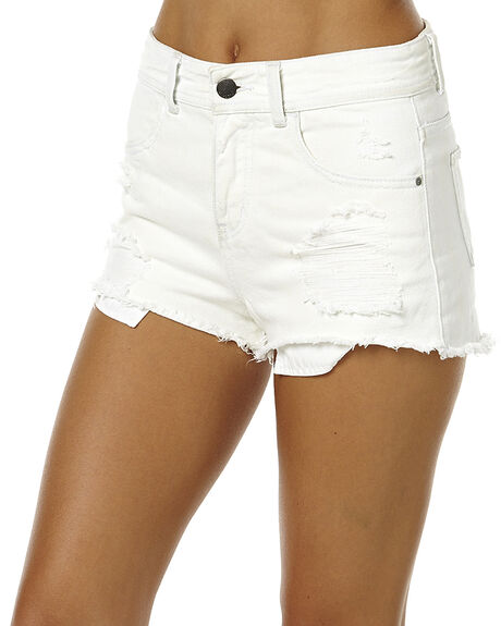 WHITE WOMENS CLOTHING BILLABONG SHORTS - 6561287WHT