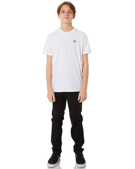 WHITE KIDS BOYS SWELL TEES - S3184023WHITE