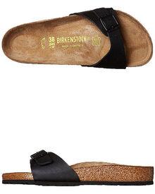 60981bada354 Birkenstock Womens Regular Madrid Sandal - Black