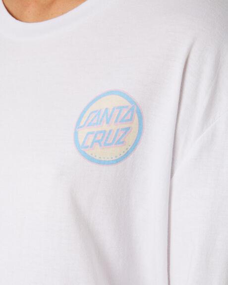 WHITE WOMENS CLOTHING SANTA CRUZ TEES - SC-WLC9910WHI