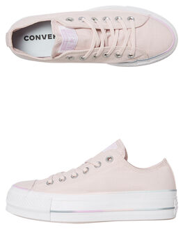 BARELY ROSE WOMENS FOOTWEAR CONVERSE SNEAKERS - 566354CBROSE