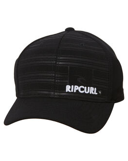 BLACK MENS ACCESSORIES RIP CURL HEADWEAR - CCAMG10090
