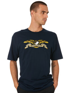 NAVY MULTI MENS CLOTHING ANTI HERO TEES - 51020001HNAVY