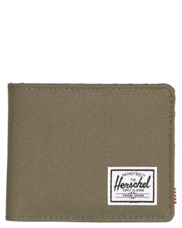 IVY GREEN PEARL MENS ACCESSORIES HERSCHEL SUPPLY CO WALLETS - 10363-02134-OSIVY