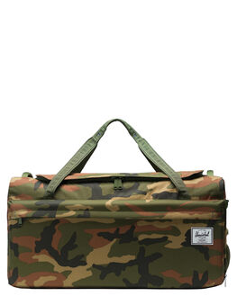 WOODLAND CAMO MENS ACCESSORIES HERSCHEL SUPPLY CO BAGS + BACKPACKS - 10585-00032-OSWDLC