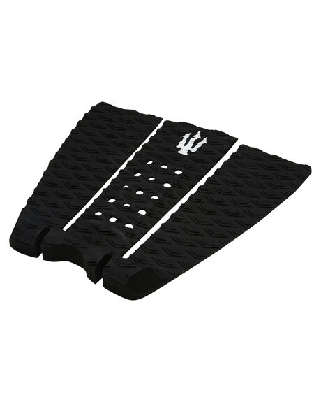 BLACK WHITE BOARDSPORTS SURF FAR KING TAILPADS - 1209BLKWH