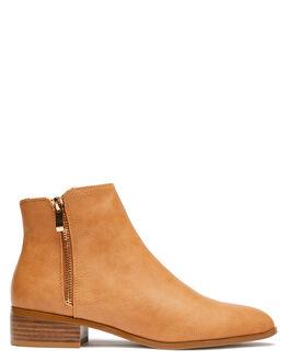 CAMEL WOMENS FOOTWEAR BILLINI BOOTS - B1001CAM