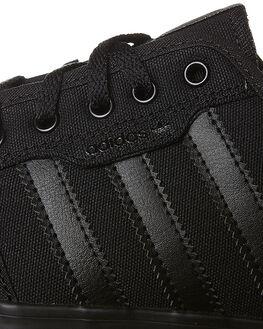 BLACK BLACK WOMENS FOOTWEAR ADIDAS SNEAKERS - SSAQ8531BKBKW