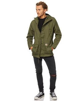 ROVER GREEN MENS CLOTHING CARHARTT JACKETS - IO1779862800