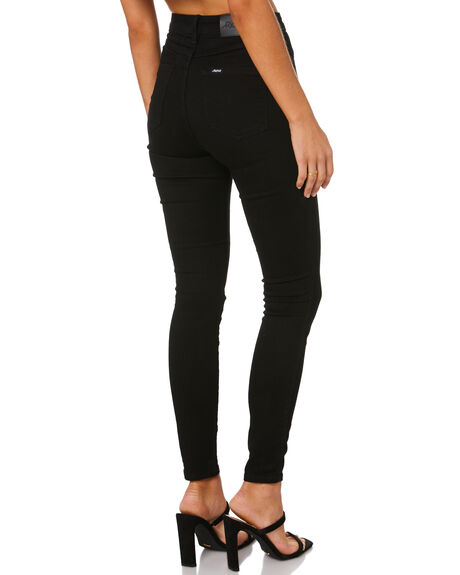 EX BLACK WOMENS CLOTHING RIDERS BY LEE JEANS - R-550703-R39BLK