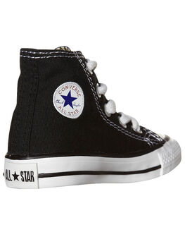 BLACK KIDS TODDLER BOYS CONVERSE FOOTWEAR - 7J231BLK