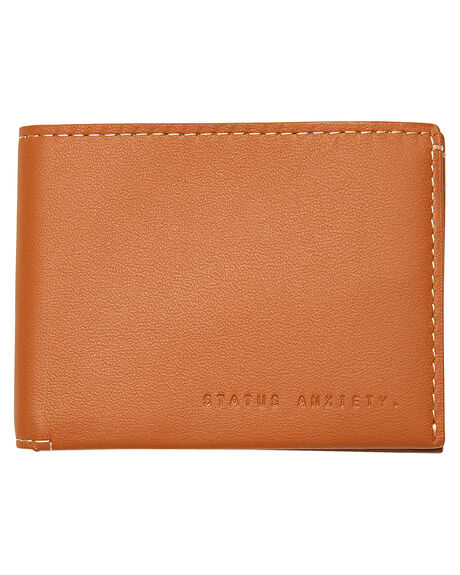 CAMEL MENS ACCESSORIES STATUS ANXIETY WALLETS - SA2283CAM