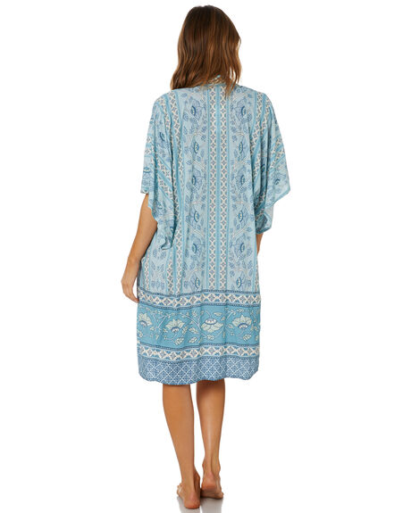 BLUE OUTLET WOMENS TIGERLILY FASHION TOPS - T602860BLU