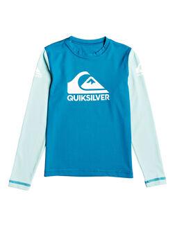 CRYSTAL TEAL BOARDSPORTS SURF QUIKSILVER BOYS - EQKWR03053-BRN0