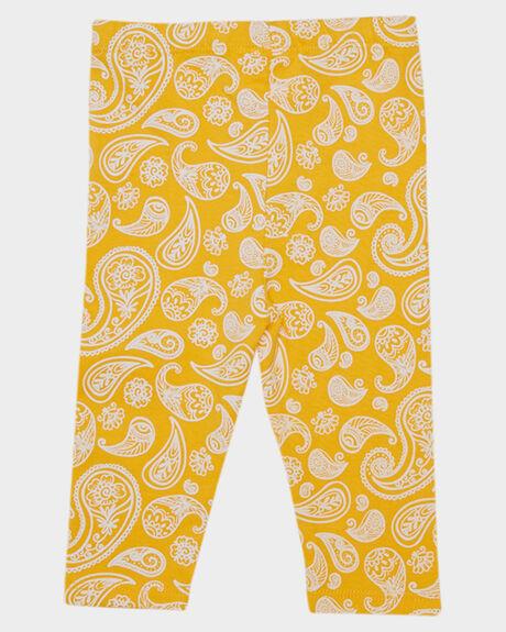 PAISLEY ORANGE KIDS BABY PUMPKIN PATCH CLOTHING - 20B7008LPAISL