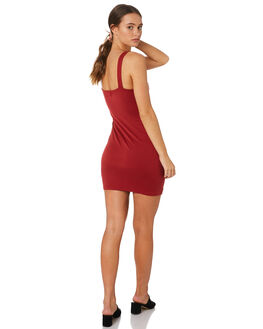 BERRY WOMENS CLOTHING MINKPINK DRESSES - MB1808103BERRY