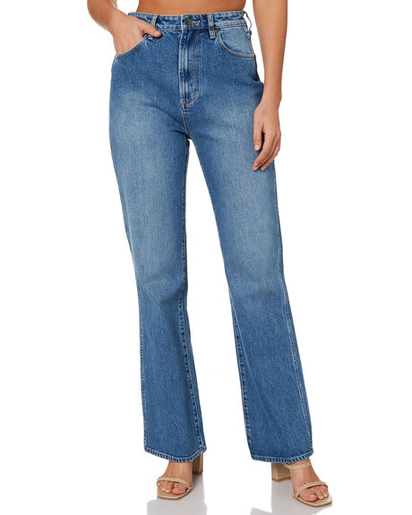 LADY BLUE WOMENS CLOTHING WRANGLER JEANS - W-952058-QA7
