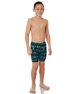 GREEN MULTI KIDS BOYS ZOGGS SWIMWEAR - 6023183GRNMT
