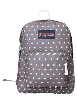 GREY WHITE WOMENS ACCESSORIES JANSPORT BAGS - JST501JS0K4GRYWT