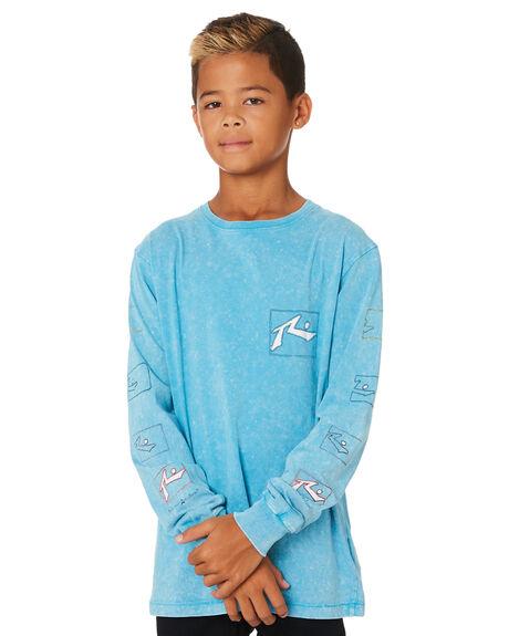 MAUI BLUE KIDS BOYS RUSTY TOPS - TTB0618MBU
