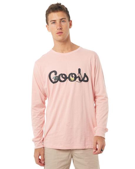 PINK MENS CLOTHING BARNEY COOLS TEES - 139-MC4PINK