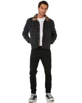 POLAR BLACK MENS CLOTHING ROLLAS JACKETS - 158085008