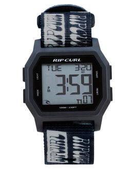 BLACK WHITE MENS ACCESSORIES RIP CURL WATCHES - A30870431